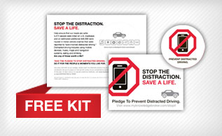 Distracted Driving Kits for Corporate Fleets