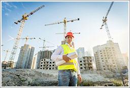 Crane-Construction-Site