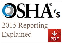 OSHA 2015 Reporting