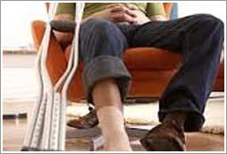 Injured Leg