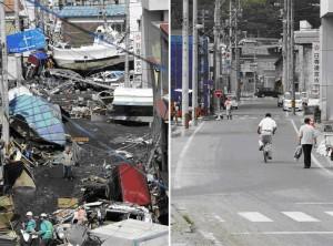 Japan Rebuilding Progress