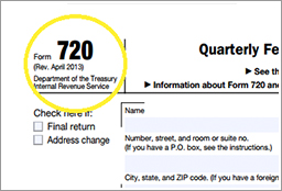 Form 720