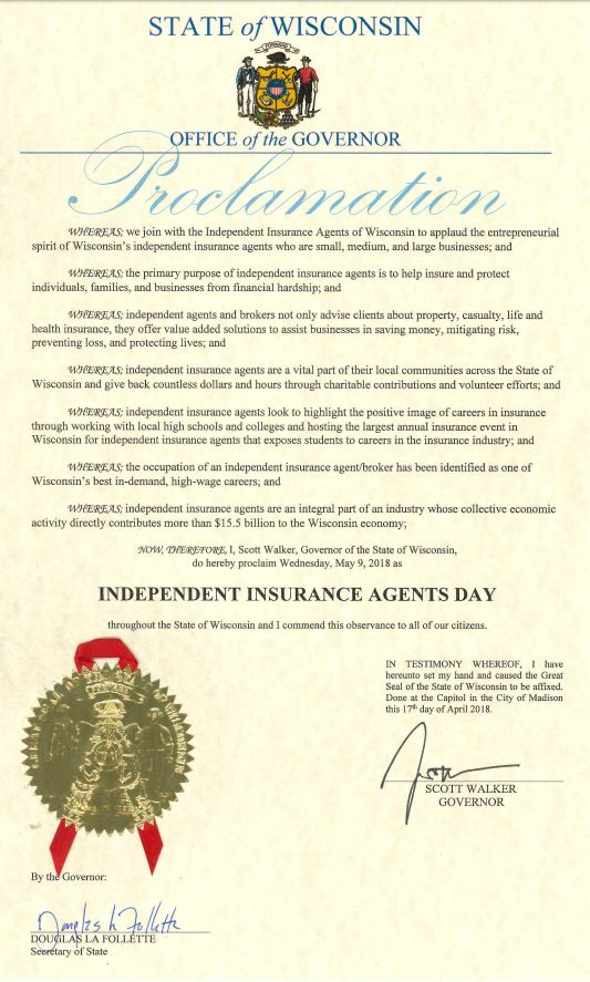 Independent Insurance Agent Day 2018