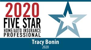 Tracy Bonin 5 Star Emblem Horizontal PNG