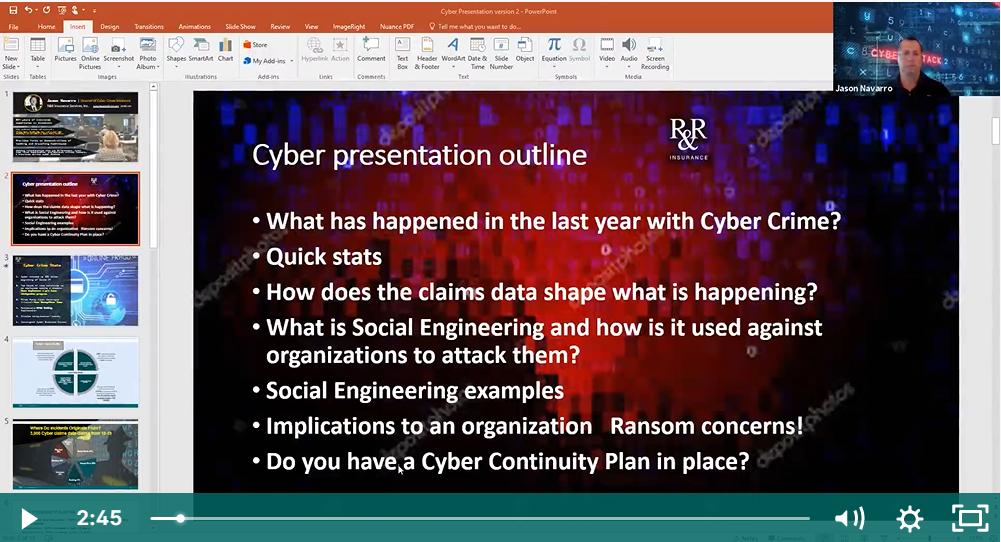 Cyber Webinar thumbnail