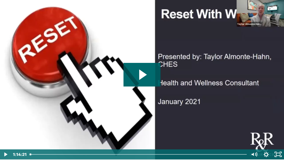 Reset with Wellness
