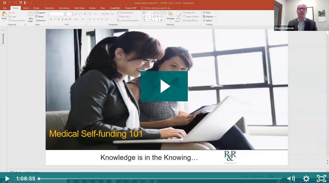 Self Funded Webinar