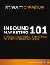 Stream Creative InBound Marketing 101 eBook & Case Studies