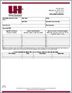 United Heartland Job Safety Analysis Form & Sample Document