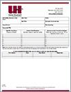 United Heartland Job Safety Analysis Form & Sample Document