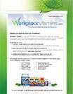 Workplace Vitamins - A Corporate Wellness Vitamin Program