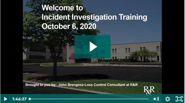 Accident Investigation Webinar