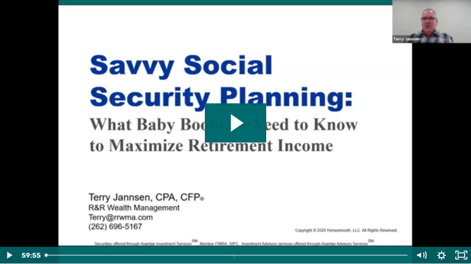 Social Security & Medicare Planning