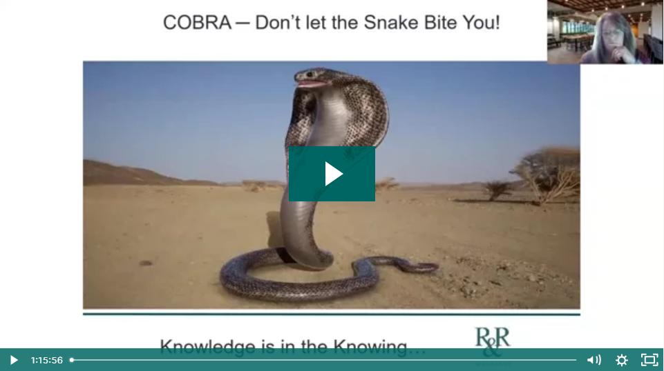 COBRA Webinar